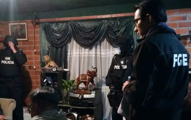 El operativo 'Huracán' liderado por Fiscalía en Cuenca dejó nueve detenidos