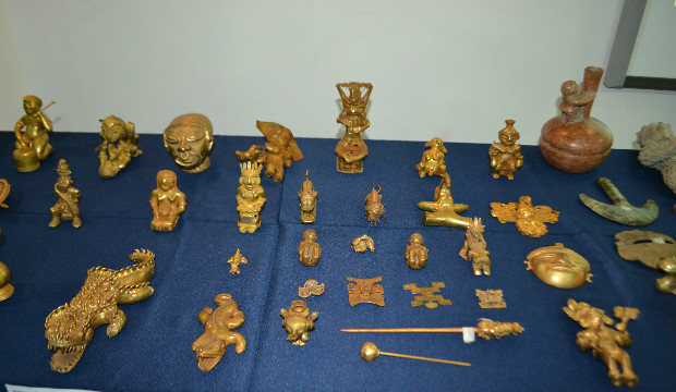 Dos personas son procesadas por tráfico de piezas arqueológicas