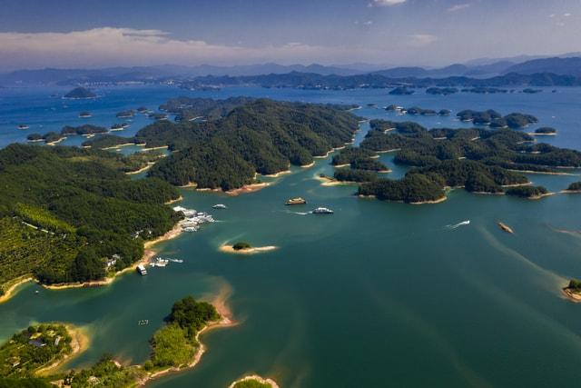 sea-water-sky-bay-lake picture material
