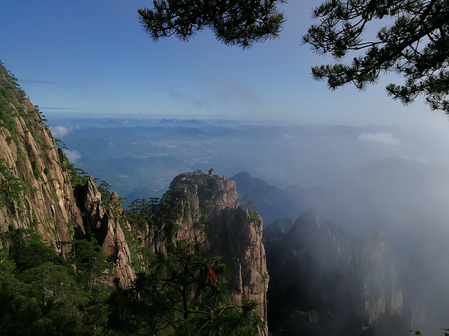 no-person-fog-mist-travel-mountain picture material