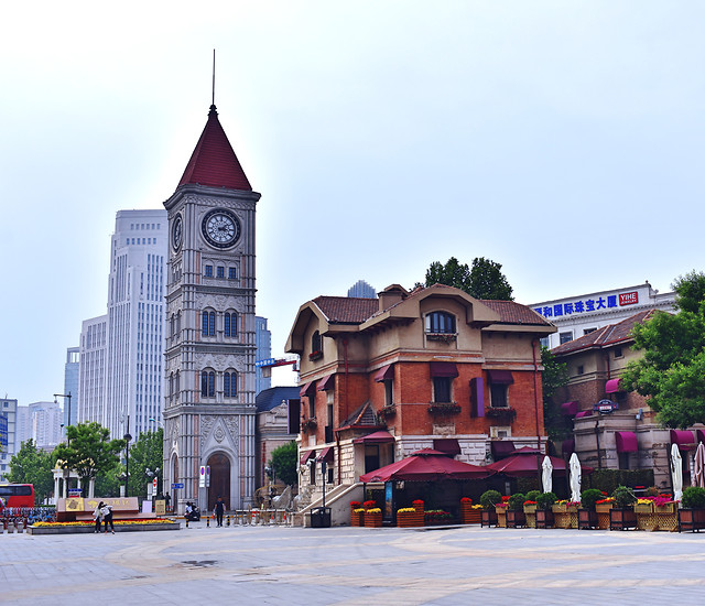 architecture-city-street-building-travel picture material