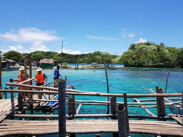 blue-sky-lagoon-sea-leisure-resort picture material