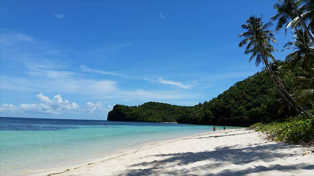 sand-beach-tropical-water-island picture material