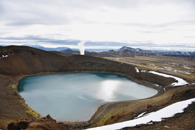highland-crater-lake-water-resources-loch-fell picture material