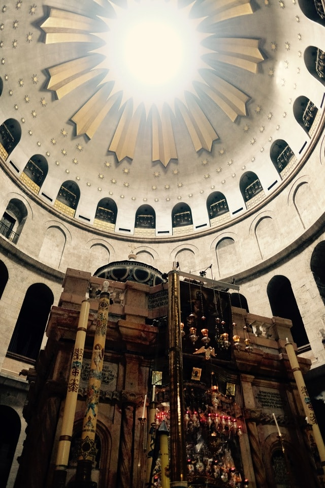 church-of-the-holy-sepulchre-church-holy-sepulchre-church-dome-architecture picture material