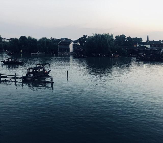 wuzhen-body-of-water-sky-water-water-resources 图片素材