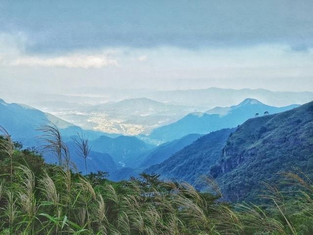 wugong-mountain-mountainous-landforms-mountain-highland-sky 图片素材