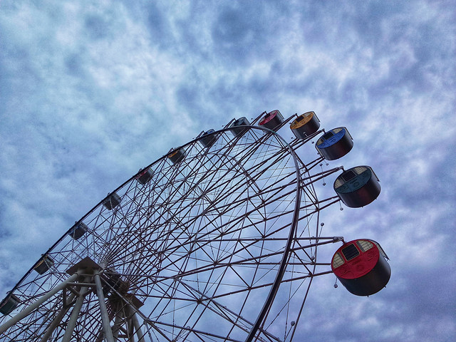 carnival-entertainment-carousel-ferris-wheel-roll-along picture material