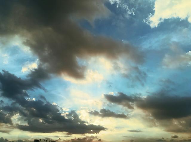 sky-sun-nature-fair-weather-sunset picture material