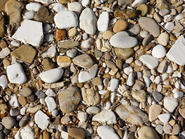 pebble-texture picture material