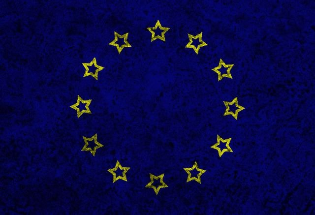 europe-flag picture material