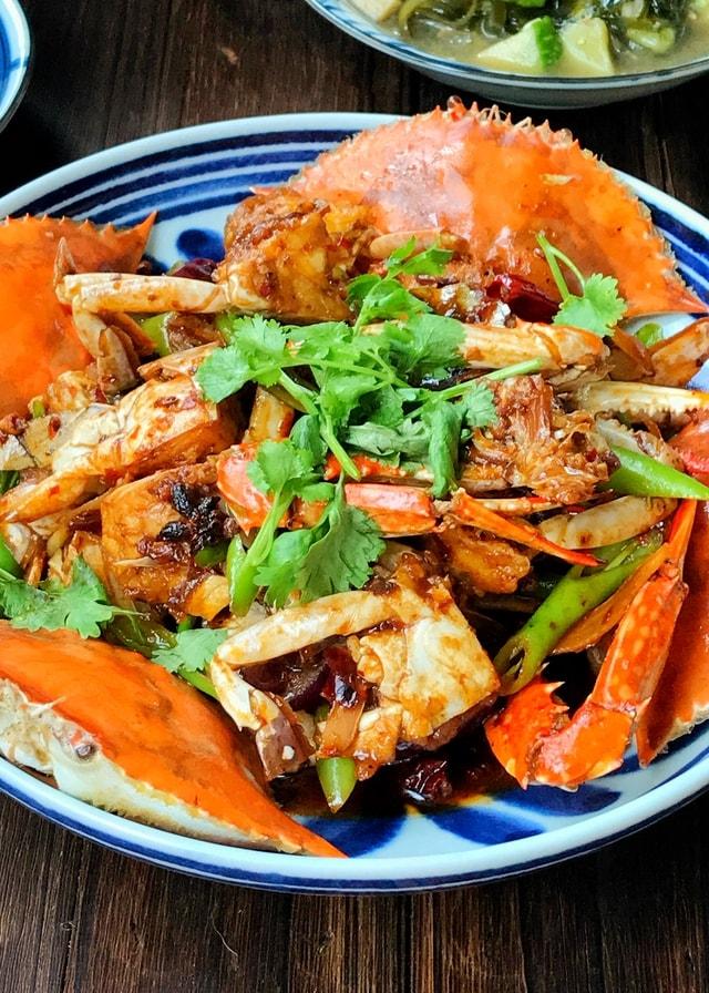 dish-food-seafood-cuisine-vegetable 图片素材