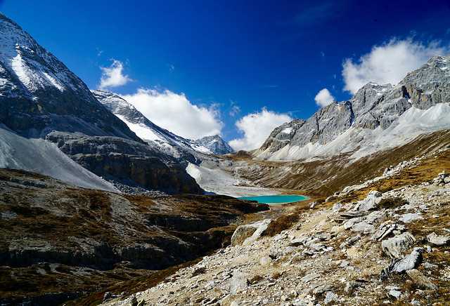 mountain-snow-landscape-glacier-mountain-peak picture material