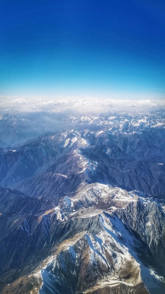 mountainous-landforms-mountain-mountain-range-sky-ridge 图片素材