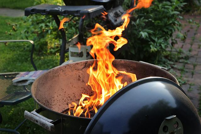庭院烧烤 picture material