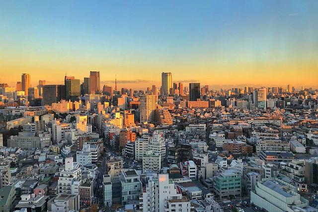 city-cityscape-skyline-architecture-metropolitan-area 图片素材