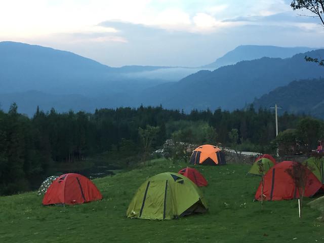 tent-camp-campsite-landscape-recreation picture material