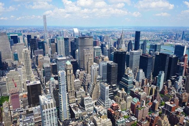 skyline-new-york-panoramic-city-metropolitan-area picture material