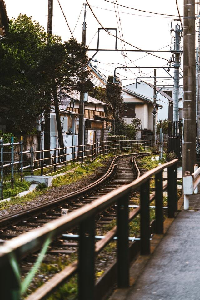 train-rail 图片素材