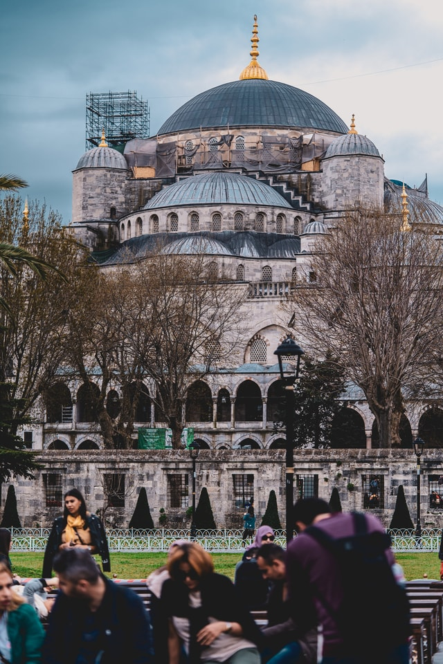 the-blue-mosque-(sultanahmet-camii)-istanbul-/-turkey picture material
