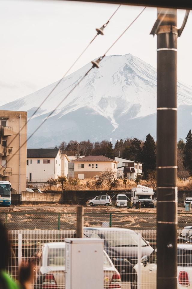 fuji-mountain-view 图片素材