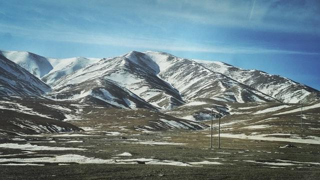 mountainous-landforms-mountain-mountain-range-sky-natural-landscape 图片素材