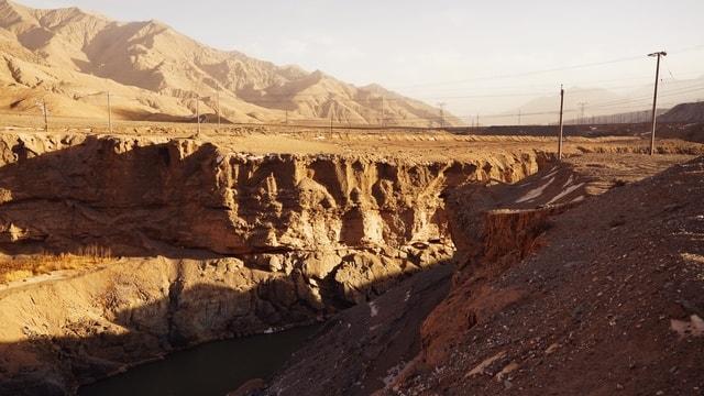 mountainous-landforms-geological-phenomenon-badlands-wadi-formation 图片素材