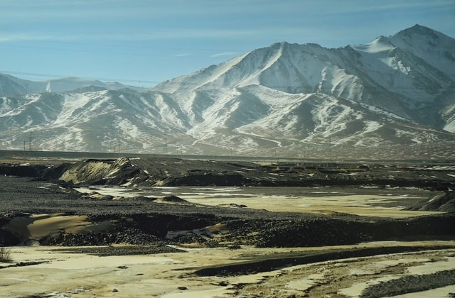 mountainous-landforms-mountain-mountain-range-highland-sky 图片素材