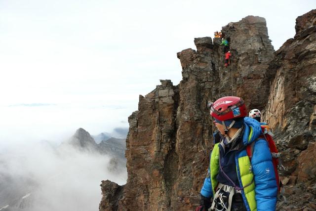 mountain-mountainous-landforms-ridge-adventure-outdoor-recreation picture material