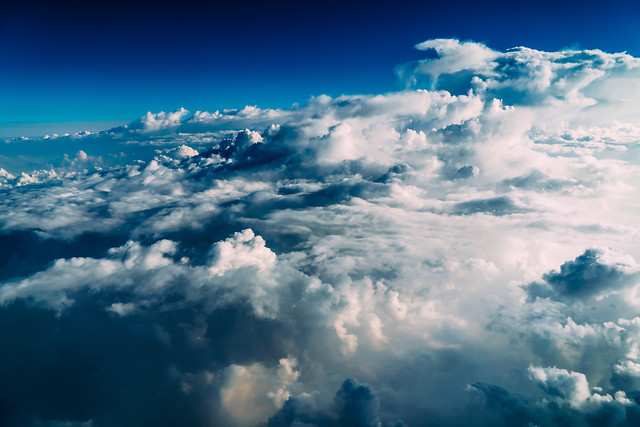 beautiful-landscape-of-earth-clouds-blue-horizon picture material