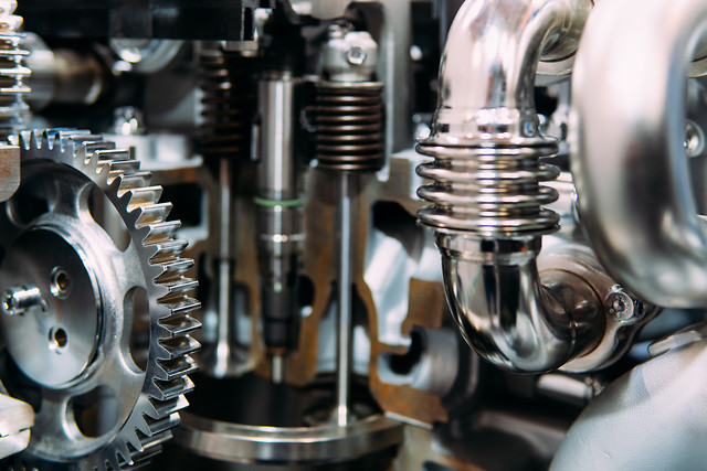 cogs-gears-and-wheels-inside-truck-diesel-engine picture material