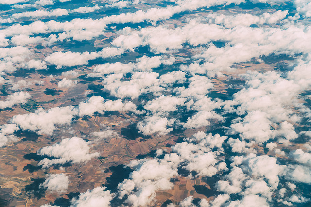 aerial-view-of-planet-earth-landscape-clouds 图片素材