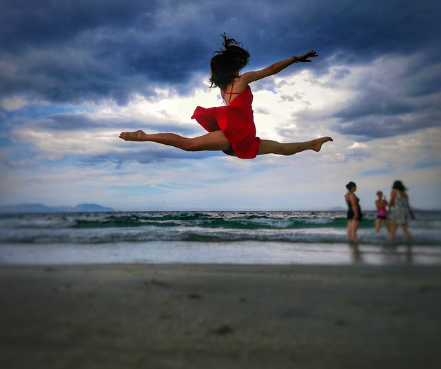 beach-ballet picture material