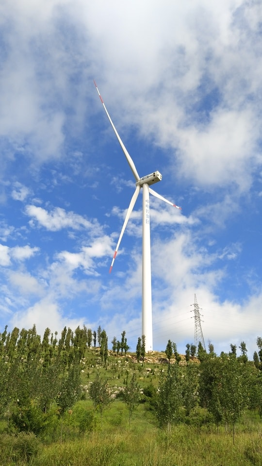windmill-wind-sky-energy-electricity picture material