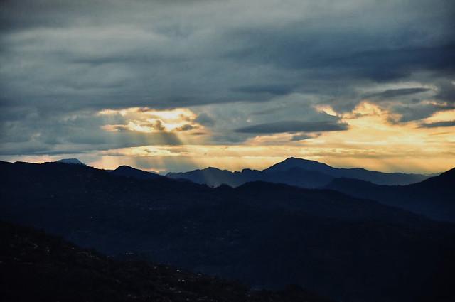 sunset 图片素材