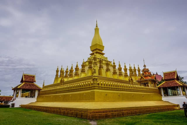 vientiane-pagoda-temple-laos picture material