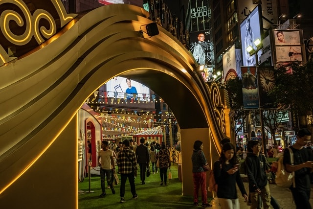 circus-causeway-bay-exhibition-hong-kong-life picture material