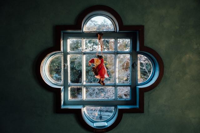 christmas-japan-yokohama-window-interior 图片素材