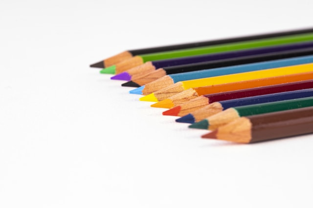 colored-pencils-with-selective-focus picture material
