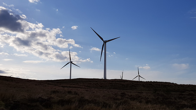windmill-wind-turbine-electricity-energy picture material