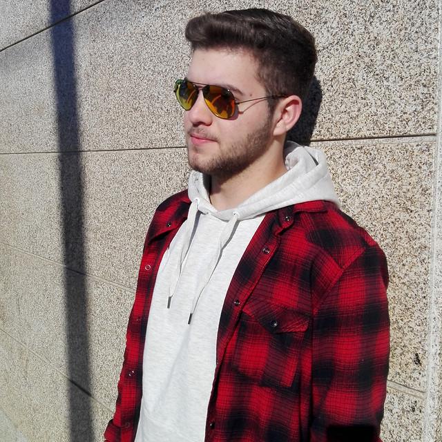 man-sunglasses-portrait-people-boy picture material