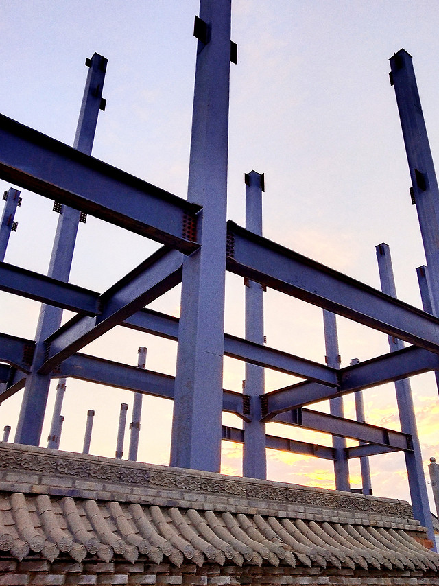 no-person-architecture-steel-sky-construction picture material