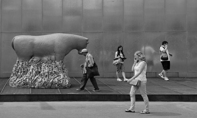 pedestrian-_-different-posture picture material