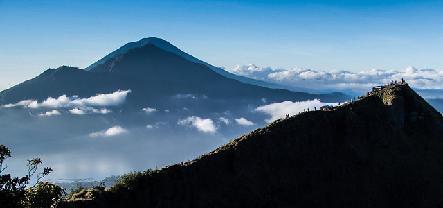 sky-mountain-cloud-landscape-volcano picture material