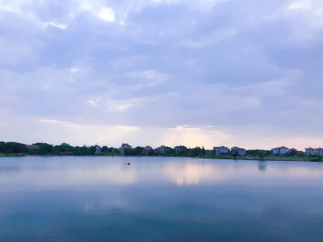 sky-body-of-water-reflection-water-resources-water 图片素材