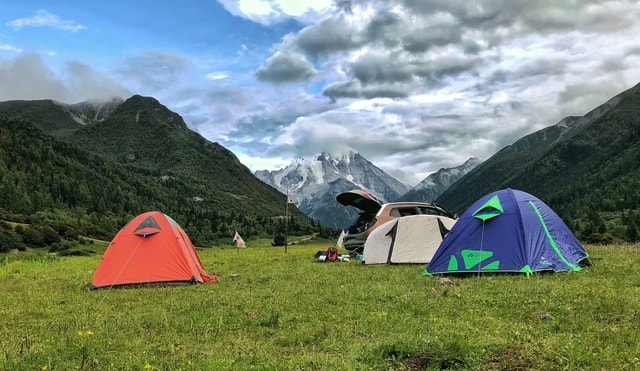 nature-mountain-leisure-sky-tent picture material