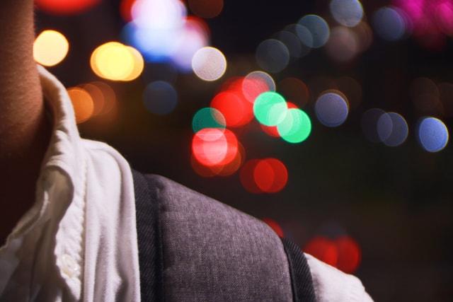 light-shoulder-blur-red-celebration picture material