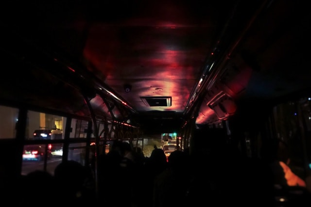 light-concert-on-the-bus-subway-system-music picture material