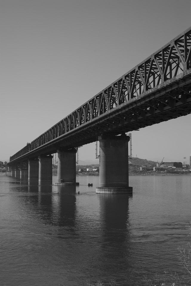 bridge-girder-bridge-water-beam-bridge-concrete-bridge picture material