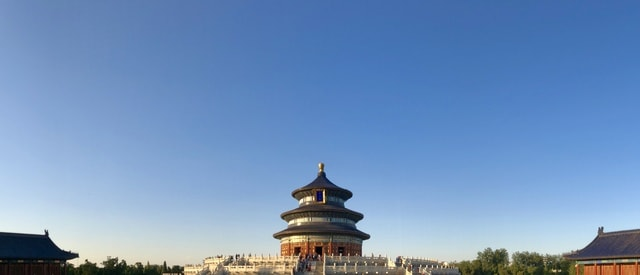 sky-landmark-building-tourism-temple picture material